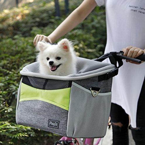 Petsfit Fahrradkorb Vorne für kleine Haustiere
