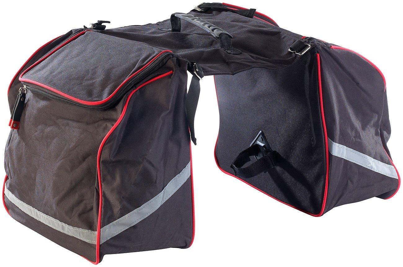 Xcase Doppel-Gepäckträgertasche
